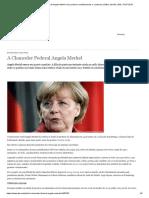 A Chanceler Federal Angela Merkel _ Os Poderes Constitucionais e o Sistema Político Alemão _ DW _ 15.07.2019