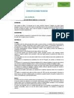 especificaciones tecnicas ie primaria  huancayo