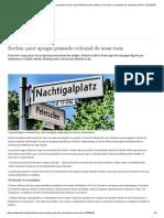 Berlim Quer Apagar Passado Colonial de Suas Ruas _ Notícias Sobre Política, Economia e Sociedade Da Alemanha _ DW _ 12.04.2018