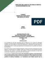 Diagnostico Ambiental Del Humedal Maria Camila