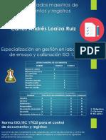 Matriz Listado Maestros de Documentos y Registros