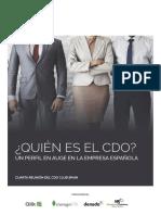 ¿Quien es el CDO?