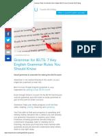7 Grammar Rules You Need to Get a Higher IELTS Score _ FluentU IELTS Blog