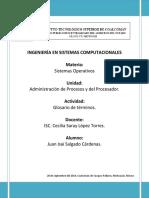 Glosario de Términos.