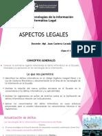 1. ASPECTOS LEGALES