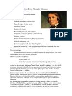 Historial Clínico Robert Schumann