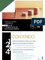 PPT Ley de Fortalecimiento de Las Finanzas Publicas