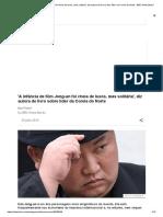 'a Infância de Kim Jong-un Foi Cheia de Luxos, Mas Solitária', Diz Autora de Livro Sobre Líder Da Coreia Do Norte - BBC News Brasil