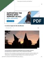 A Curiosa Origem Do Dia Das Bruxas - BBC News Brasil