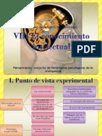VIII-X El Conocimiento Intelectual