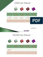 AE2300User ManualV1.0