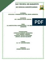 Agricultura Convencional Exposicion