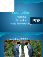 Counseling PGDC