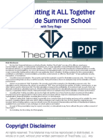 Final TheoTrade Summer School