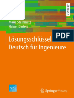 Deutsch f 252 r Ingenieure -L 246 Sungsschl 252 Ssel