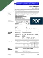 Luxaprime1300 Alkyd Zinc Chromate Primer