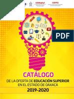 Catálogo de Licenciaturas 2019 - 2020