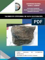 Yacimientos de Alta Sulfuración