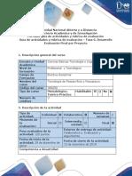 Guía de Actividades y Rúbrica de Evaluación - Fase 6. Desarrollo Evaluación Final Por Proyecto.docx