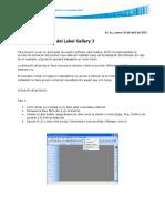 SATO - Label Gallery - Activación