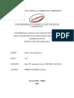 Socialización de SPA de Investigación - Zulema Perez P.