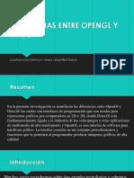 Diferencias Entre Opengl y Directx