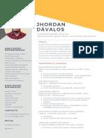 CV Jhordan Dávalos D.
