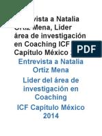 investigación en Coaching ICF