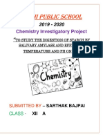 Chemistry Project XII
