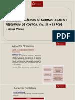 Registros de Costos_Ctas. 22 y 23 PCGE-