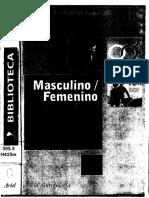 La Valencia Diferencial de Los Sexos Françoise Heritier