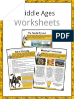 Sample Middles Ages Worksheets