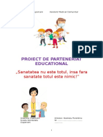 Parteneriat Cudispensarul 2019-2020