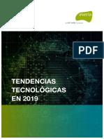 Tendencias Tecnológicas en 2019 v6