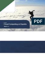 Cloud Computing en España 2018