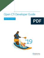 API Open Cti