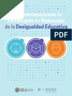 OEA y The Dialogue - Guía Interamericana de Estrategias de Reducción de la Desigualdad Educativa