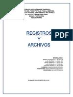 Registros y Archivos