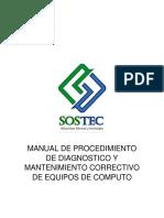 Manual Diagnostico y Mantenimiento Corr de Eq de Computo