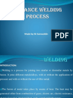 Advanced Welding Process (Welding)