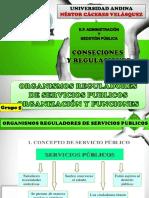 Orsp Organizacion y Funciones