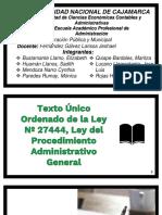 Ley 27444 PROCEDIMIENTO ADMINISTRATIVO.pptx