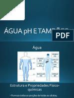 Água Ph e Tampões