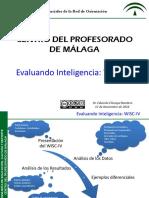 Evaluando Inteligencia WISC IV