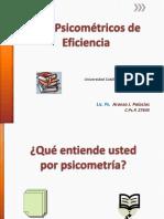 Psicometria eficiencia