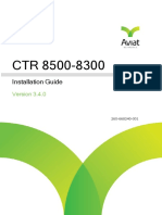 CTR 8500-8300 3.4.0 Installation Guide_June2017