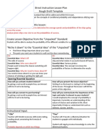 gaspars tel 311 direct instruction lesson plan template