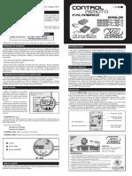 Manual de programacion Control Autoalarmas