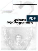 Logic and Logic Programming
