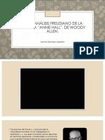 """Análisis desde perspectivas psicoanalíticas de la película """"Annie Hall"""" (1977)"""